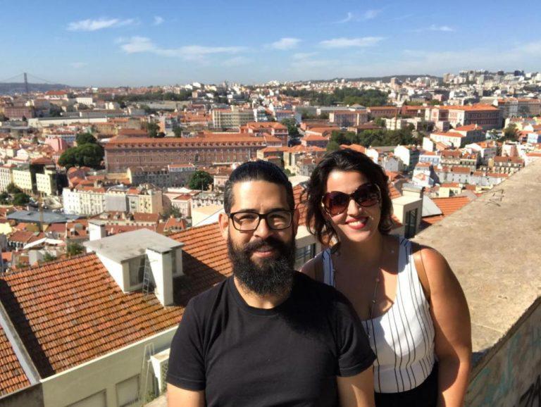 Vista do alto de Lisboa, Miradouro Senhora do Monte