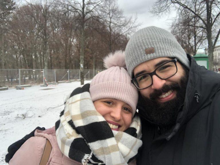 Começo de 2019, juntos em Berlim.